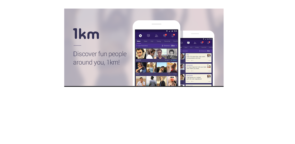 1km dating site