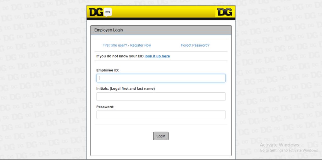 Dgme Employee Access Login