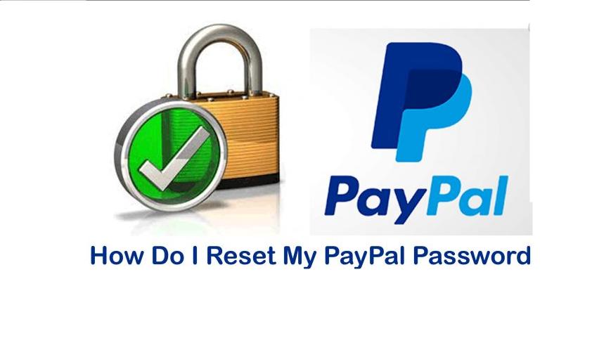 PayPal Change Password