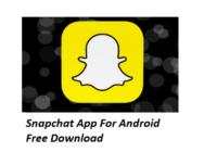 Snapchat App Android